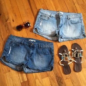Pants - 2 pairs denim shorts ☀️ 🏖 Spring Break Bundle